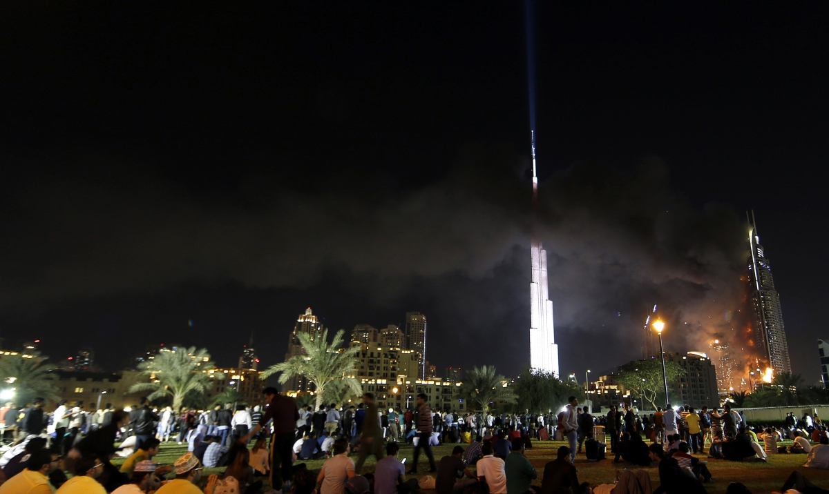 Dubai Fire The Address Hotel