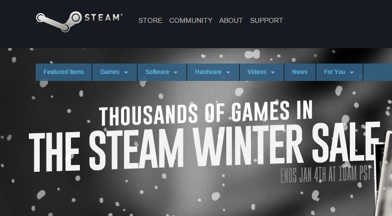 DDoS attack on Steam Store