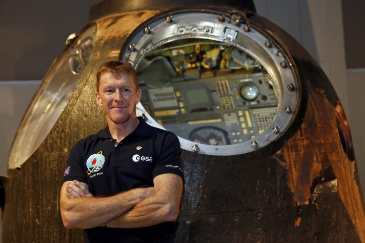 Tim Peake sends New Year message from ISS