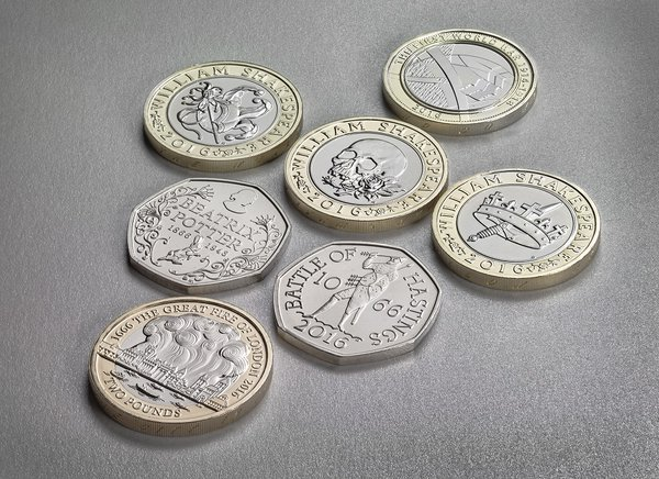 Royal Mint unveils new coins