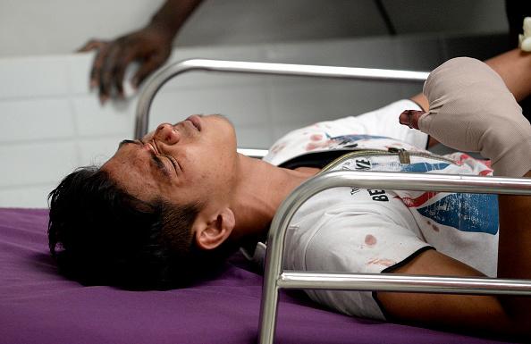 Manila injured man