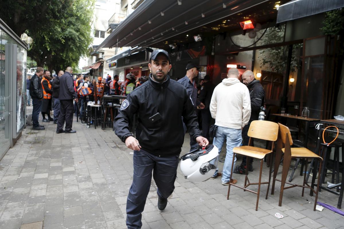 Israel shooting 2016 Tel Aviv