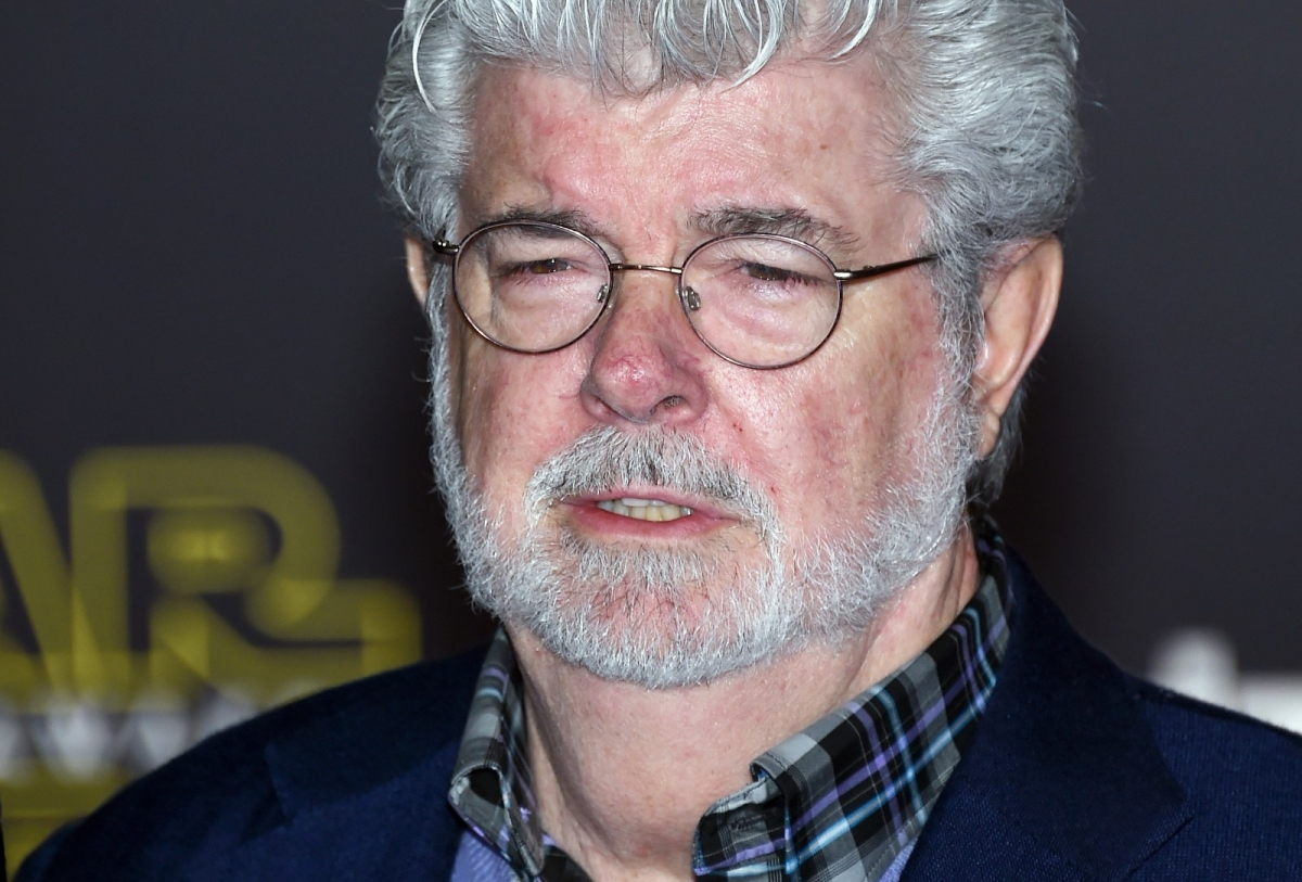 George Lucas Star Wars Force Awakens premiere