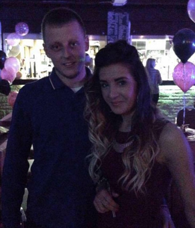 Liam Hewitson and Jessica Hill