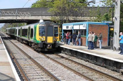 Winsford railway station
