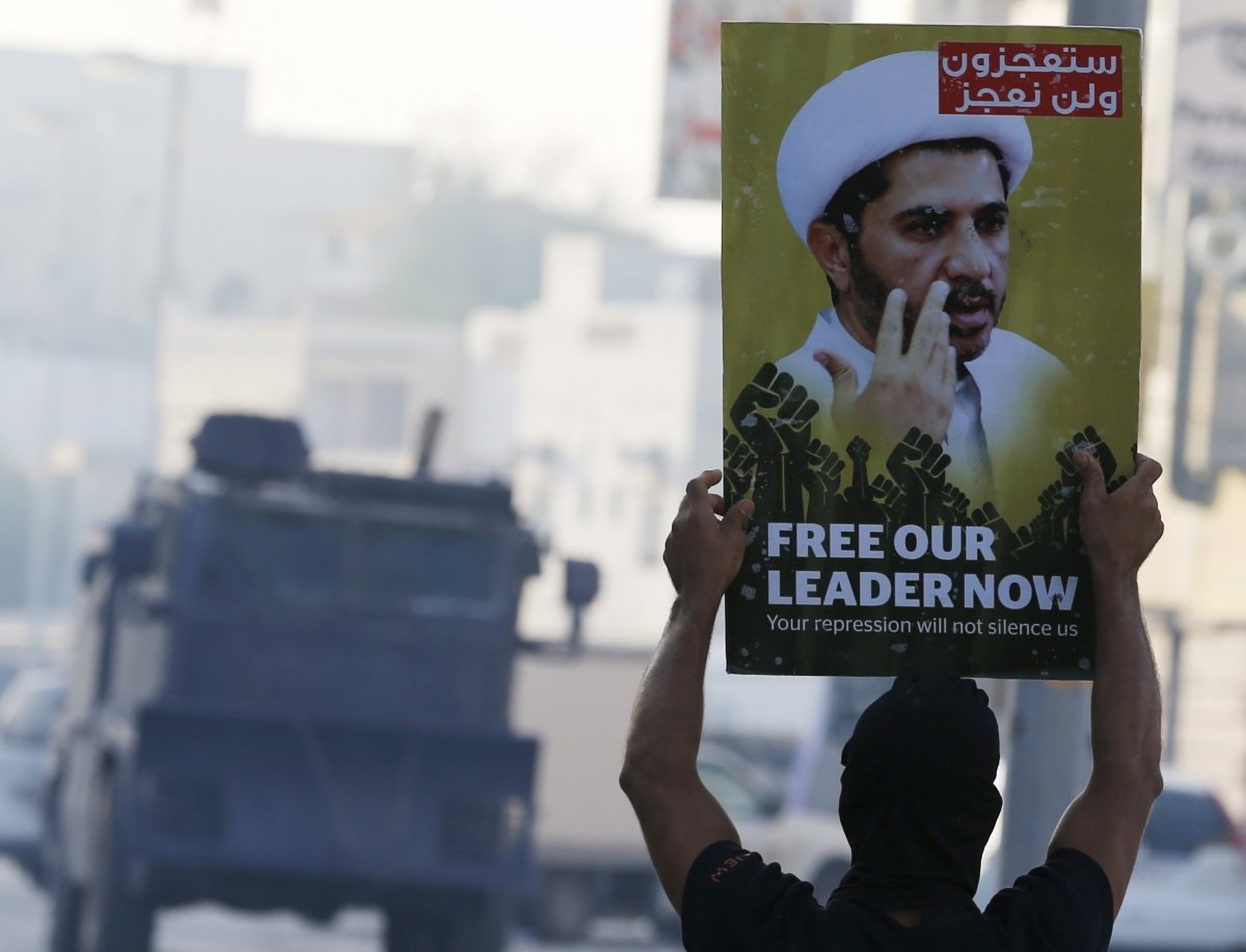 Nimr al-Nimr protests Bahrain
