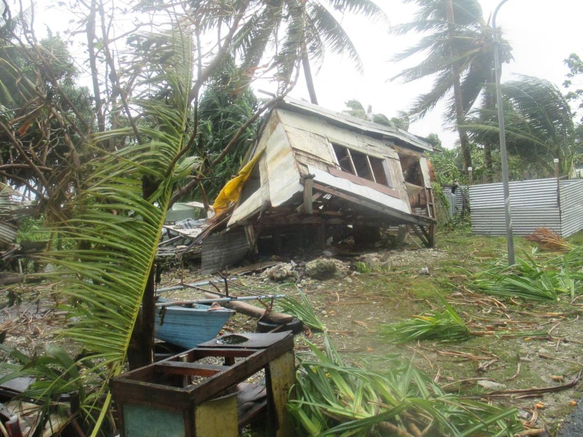 Tonga Cyclone Ula