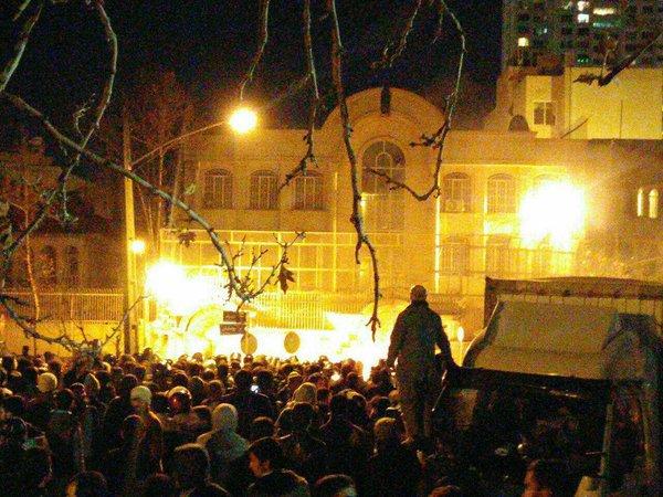 Saudi embassy in Tehran
