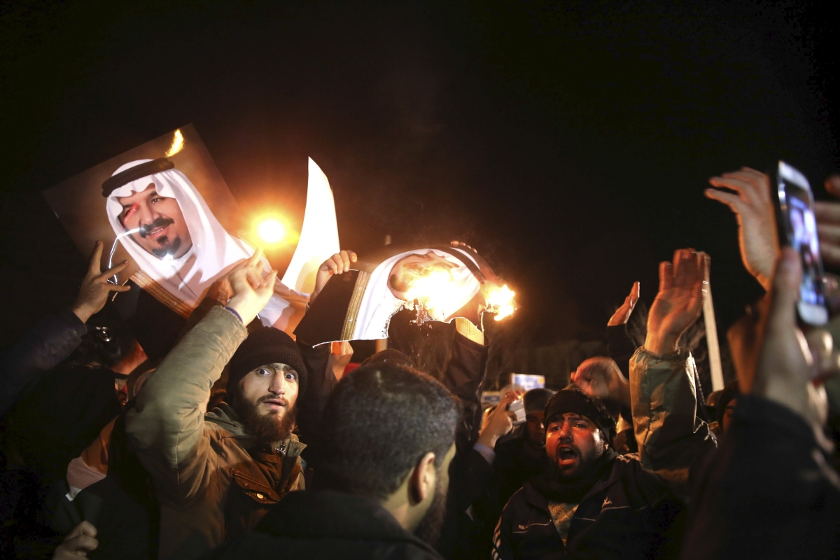 Saudi executions and Iranian cleric