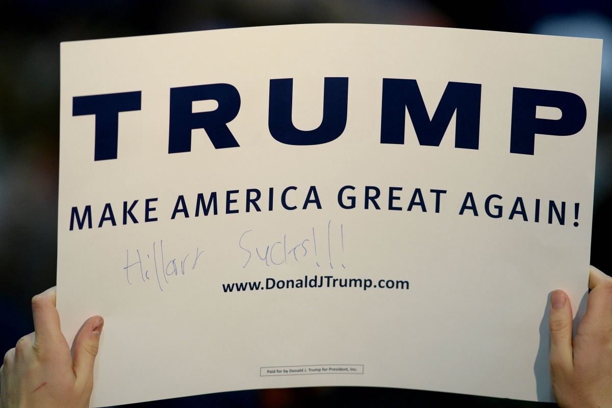 Hackers attacked Donald Trump website