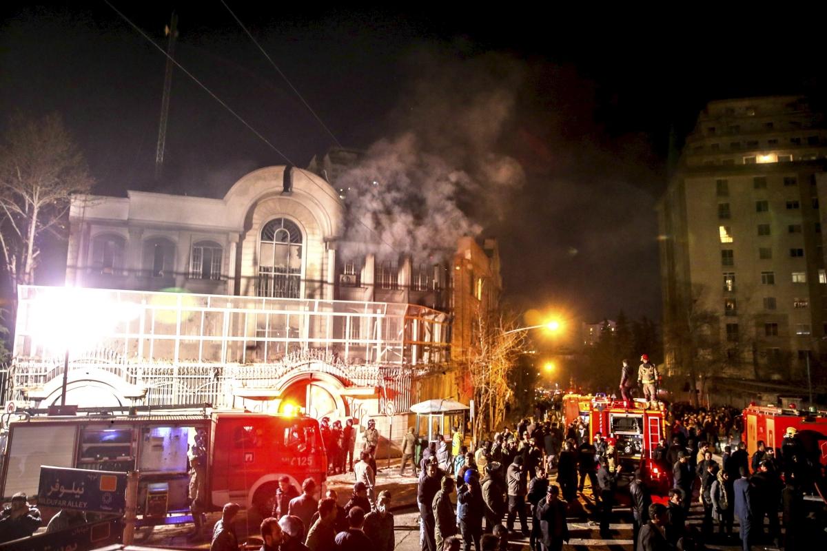 Tehran embassy storming