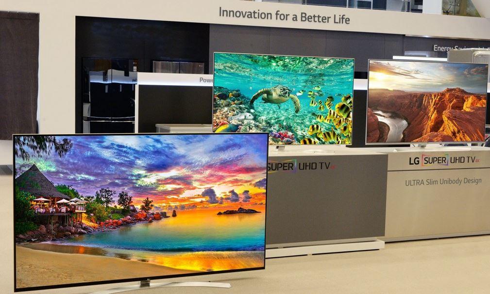 LG Super UHD TVs for CES 2016