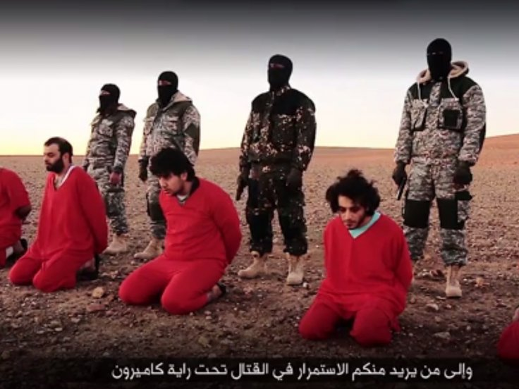 Islamic state execution spies