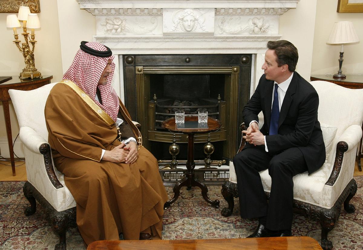 david cameron saudi arabia