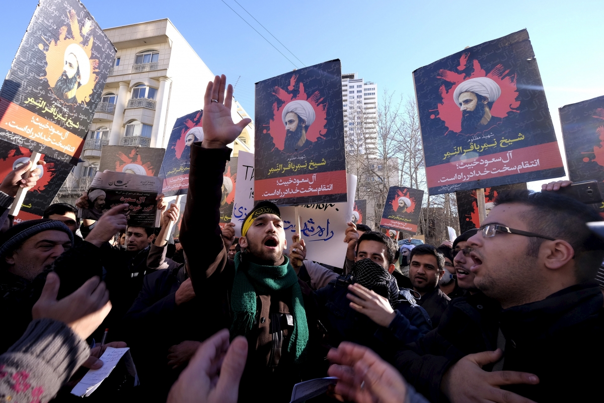 Iran Saudi protests