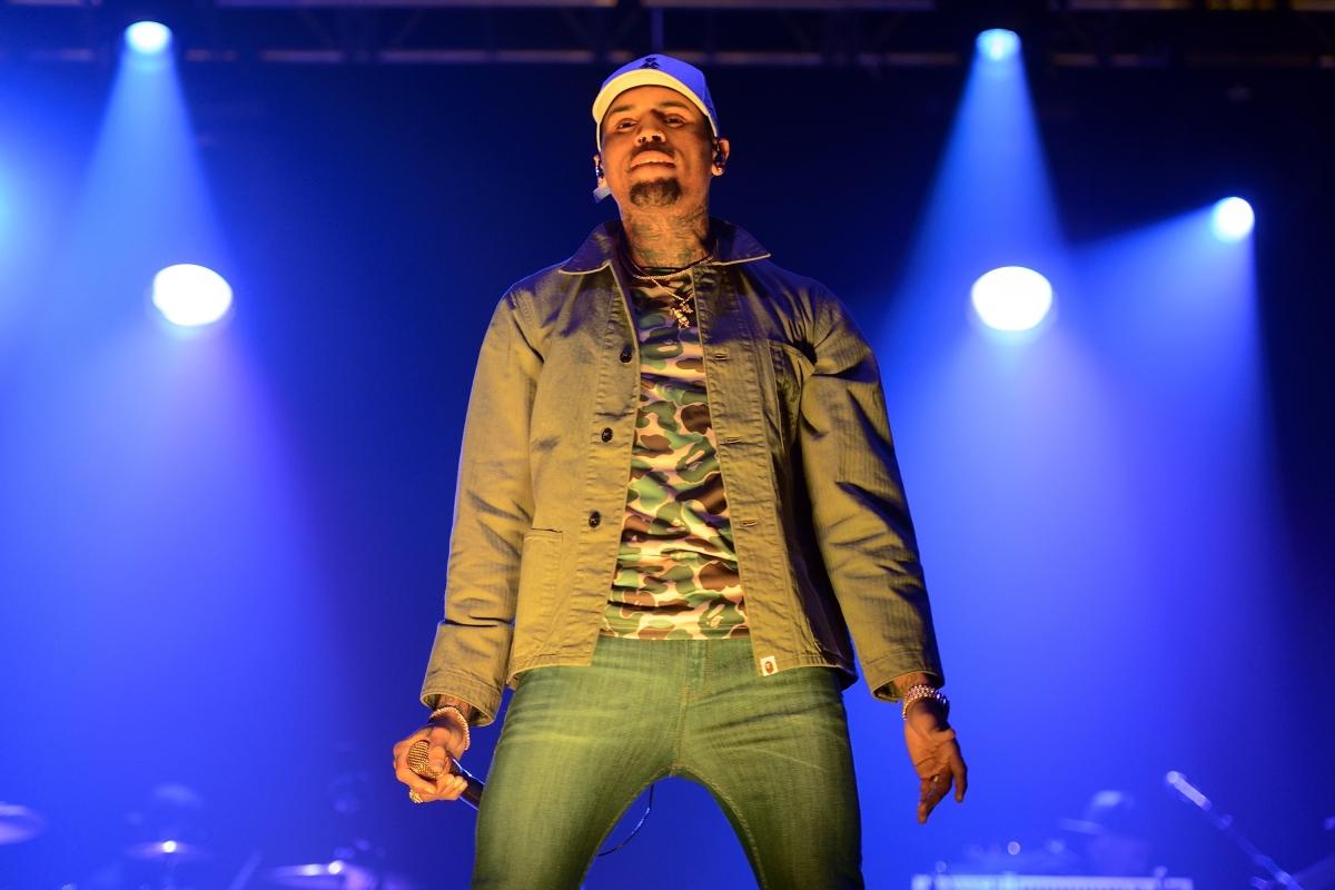 Rapper Chris Brown