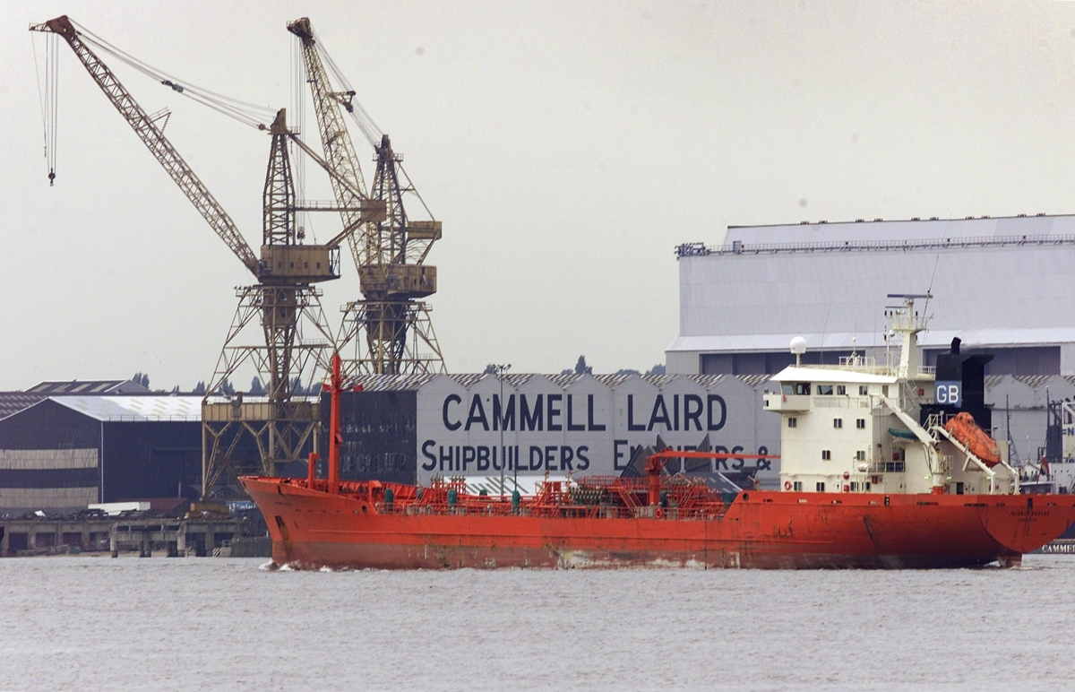 British engineering skills in crisis according to shipbuilder Cammell Laird
