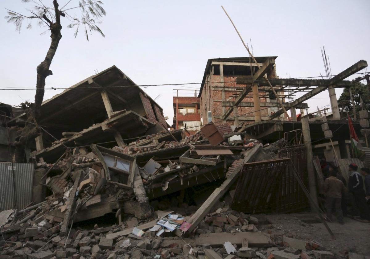 India quake