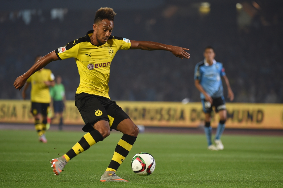 Aubameyang Picture: Pierre-Emerick Aubameyang: Manchester City Launch