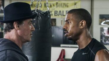 Michael B. Jordan and Sylvester Stallone