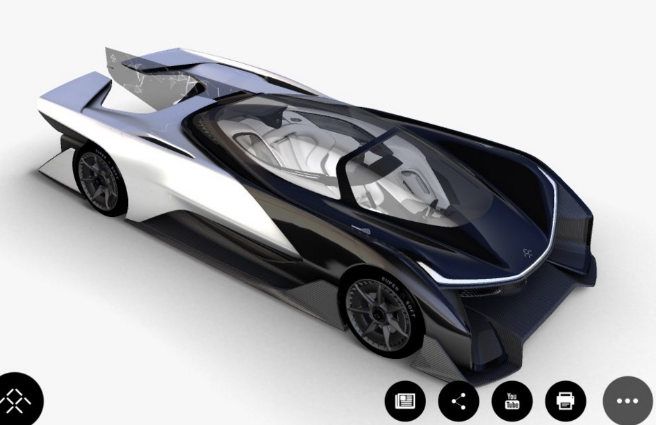 revealed  this is faraday future u0026 39 s 1 000hp electric car
