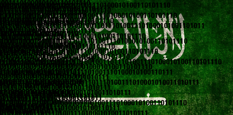 saudi arabia ddos attack hackers