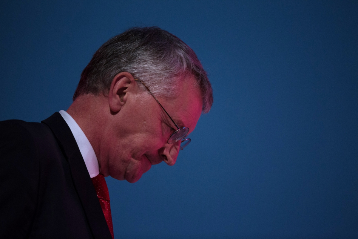 Hilary Benn sacked