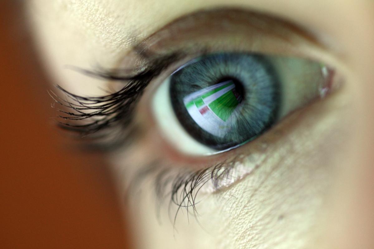 Eyeball close up