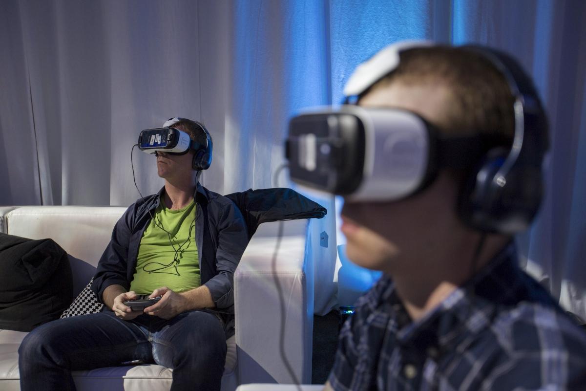 CES 2016 VR