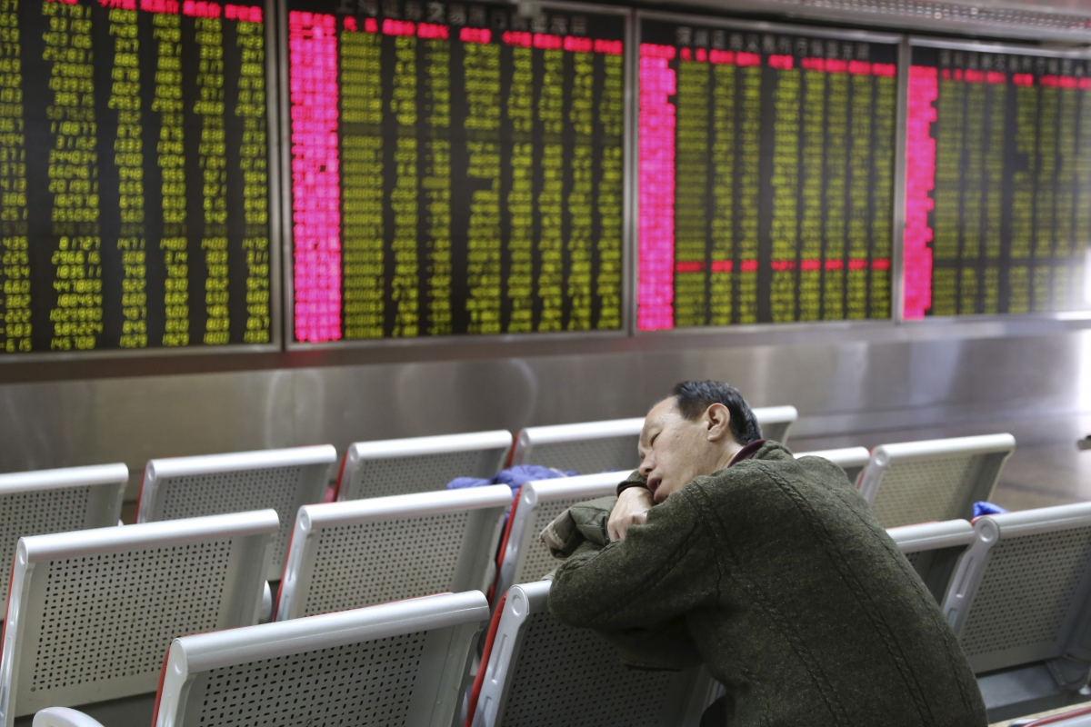 Barring Korea, Asian markets in the red despite injection of liquidity by China's central bank