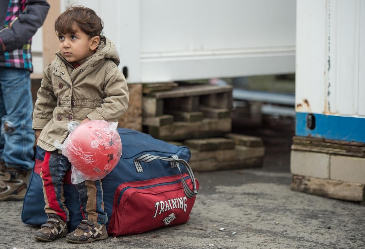 refugee boy