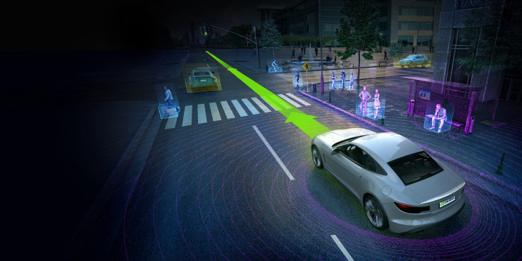 Nvidia\'s Drive PX 2 for self-driving cars