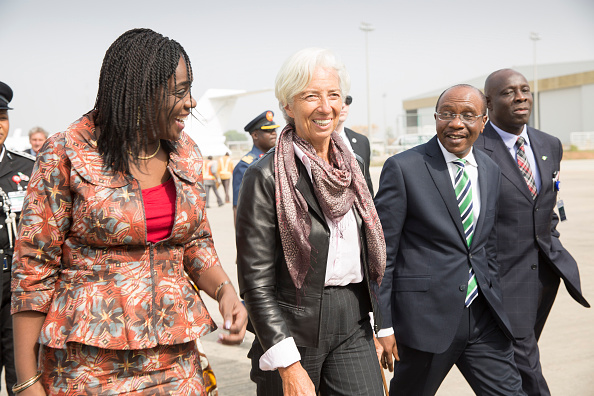International Monetary Fund   Managing Director Christine Lagarde  in Nigeria