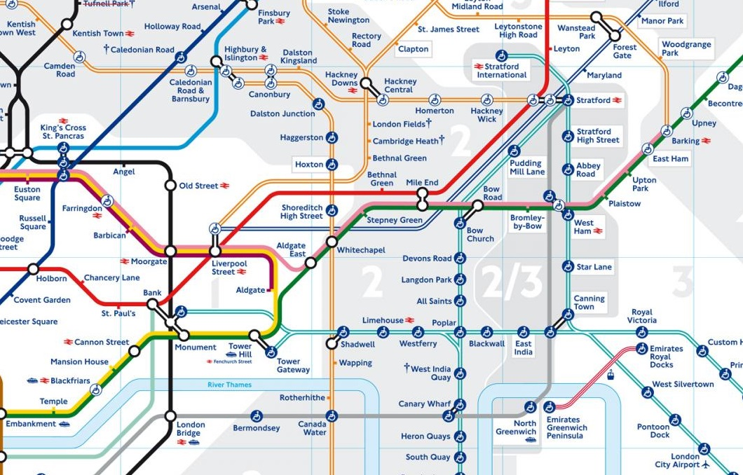 New London Underground map 2016