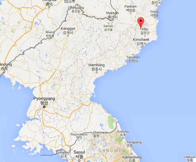 Punggye-ri in North Korea