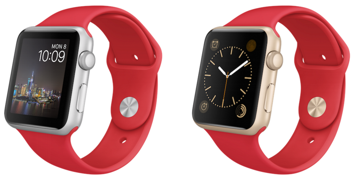 Apple Watch Sport limited edition models