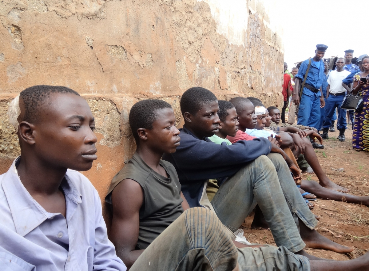 Burundi rebels