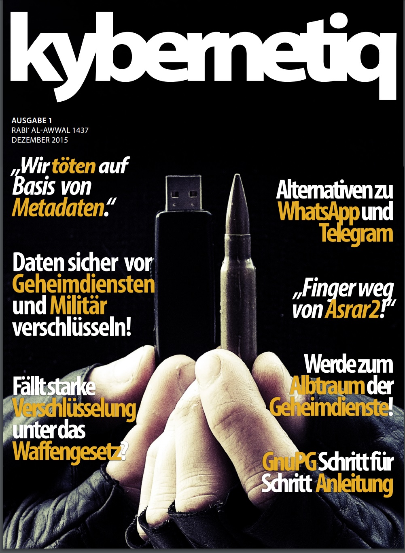 Kybernetiq cyberwar isis magazine jihad