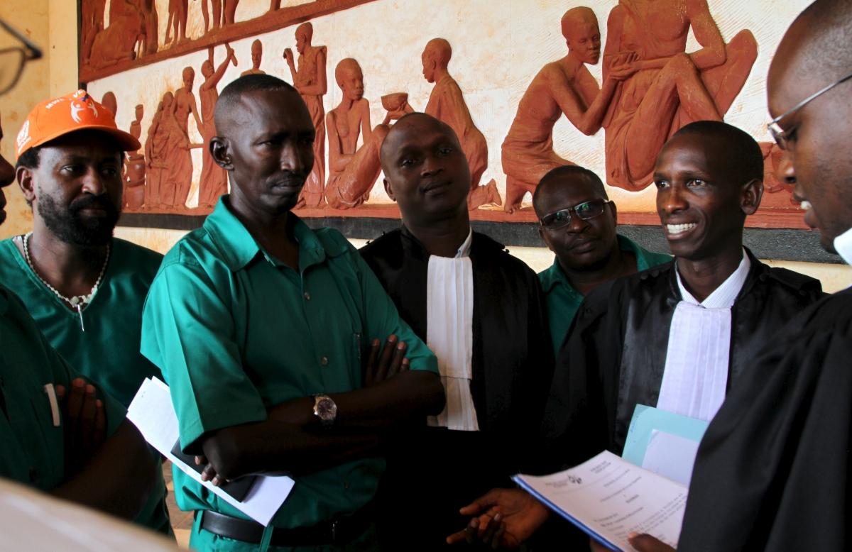 Burundi coup plotters trial