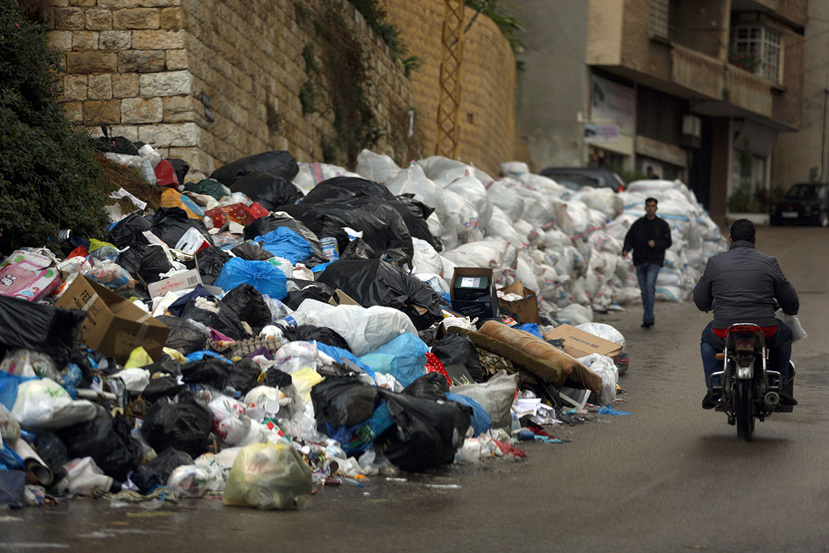 Lebanon rubbish