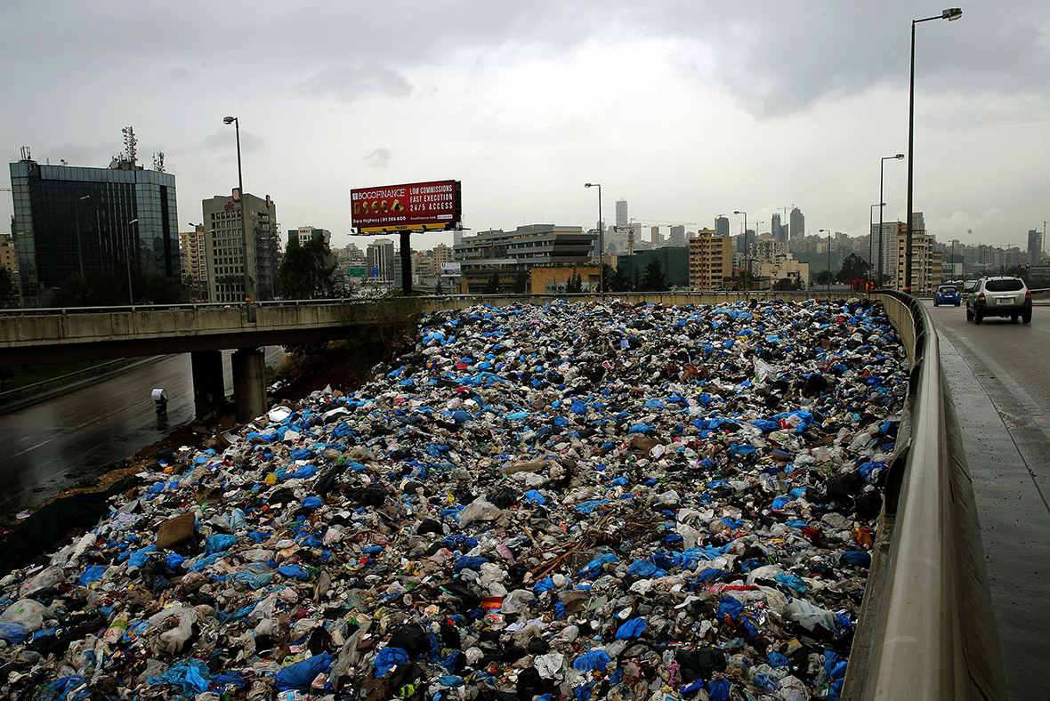 Lebanon S Solution For The Mountains Of Rubbish Around
