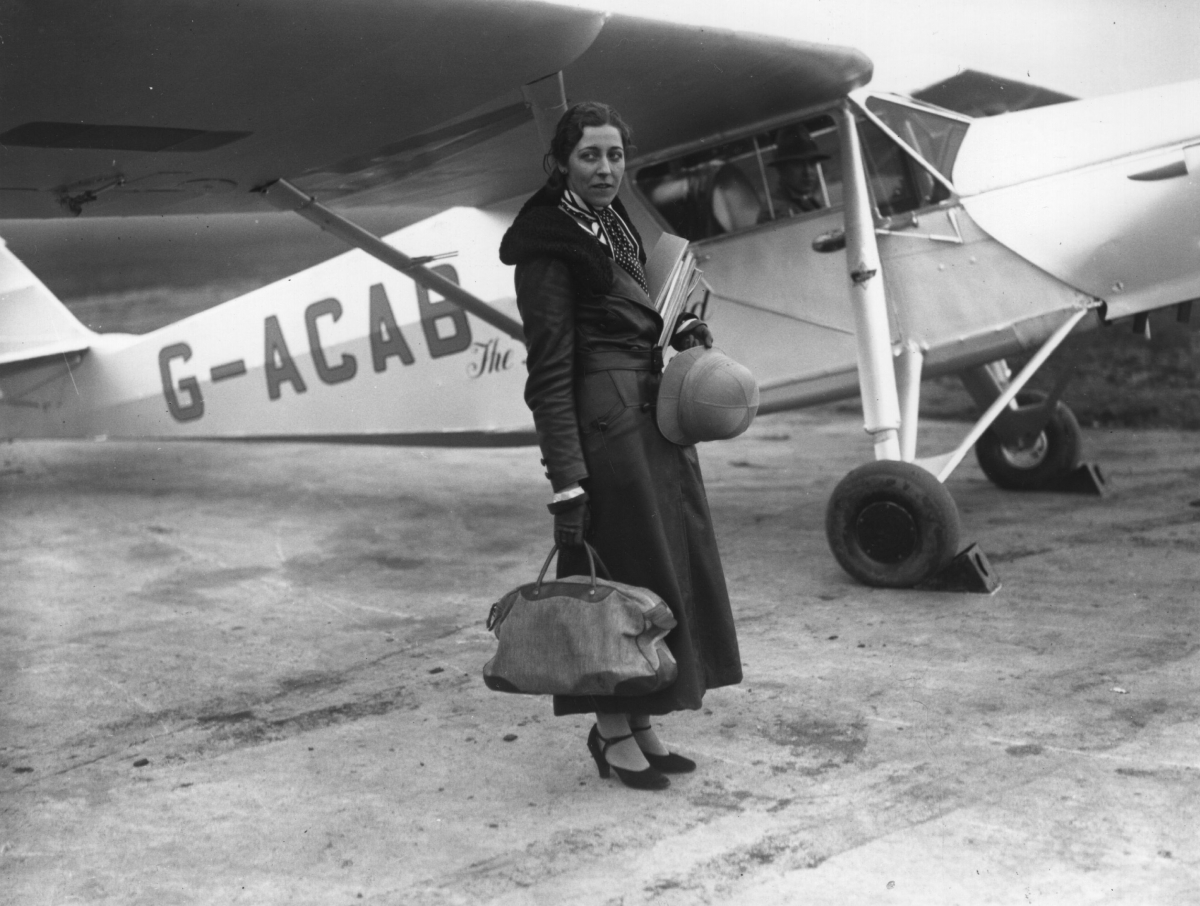 Amy Johnson pilot