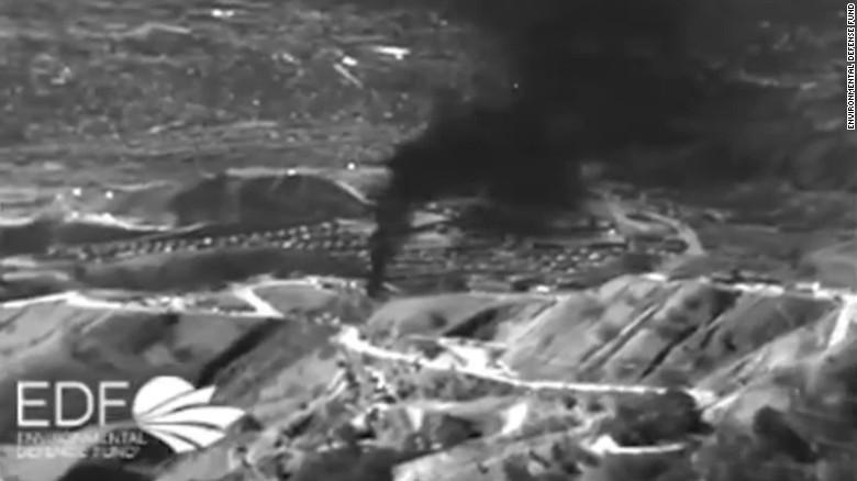 methane gas leak in LA