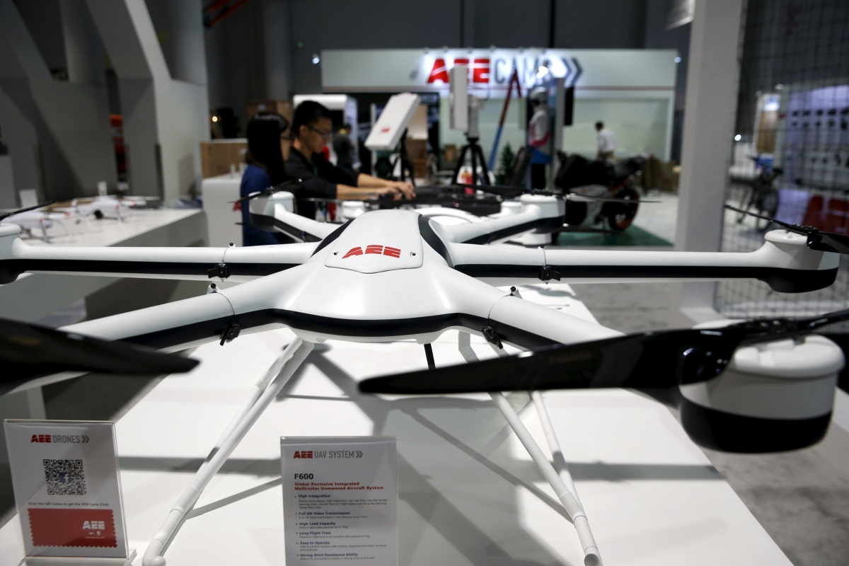 Drones at CES