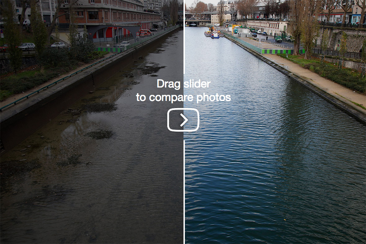 Paris Pictures Of Canal Saint Martin Clean Up As Bikes