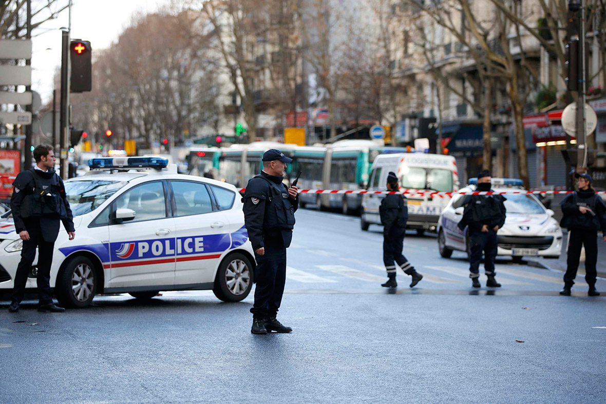 paris police shooting