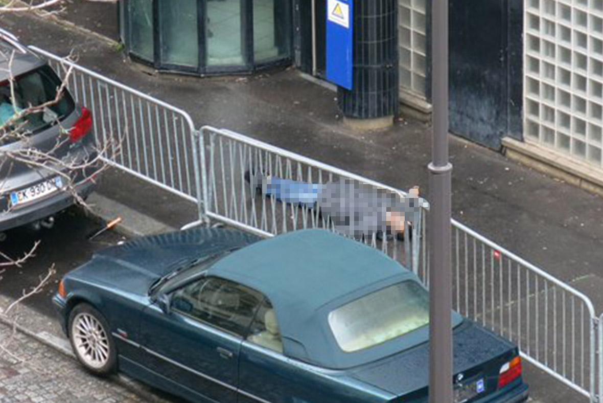 paris police shooting