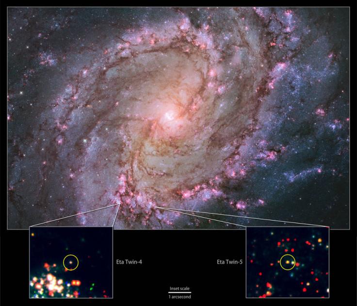 Eta Carinae twins