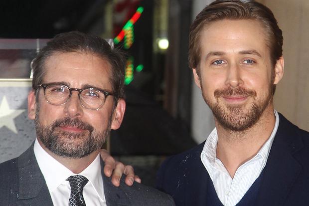 Steve Carrell and Ryan Gosling