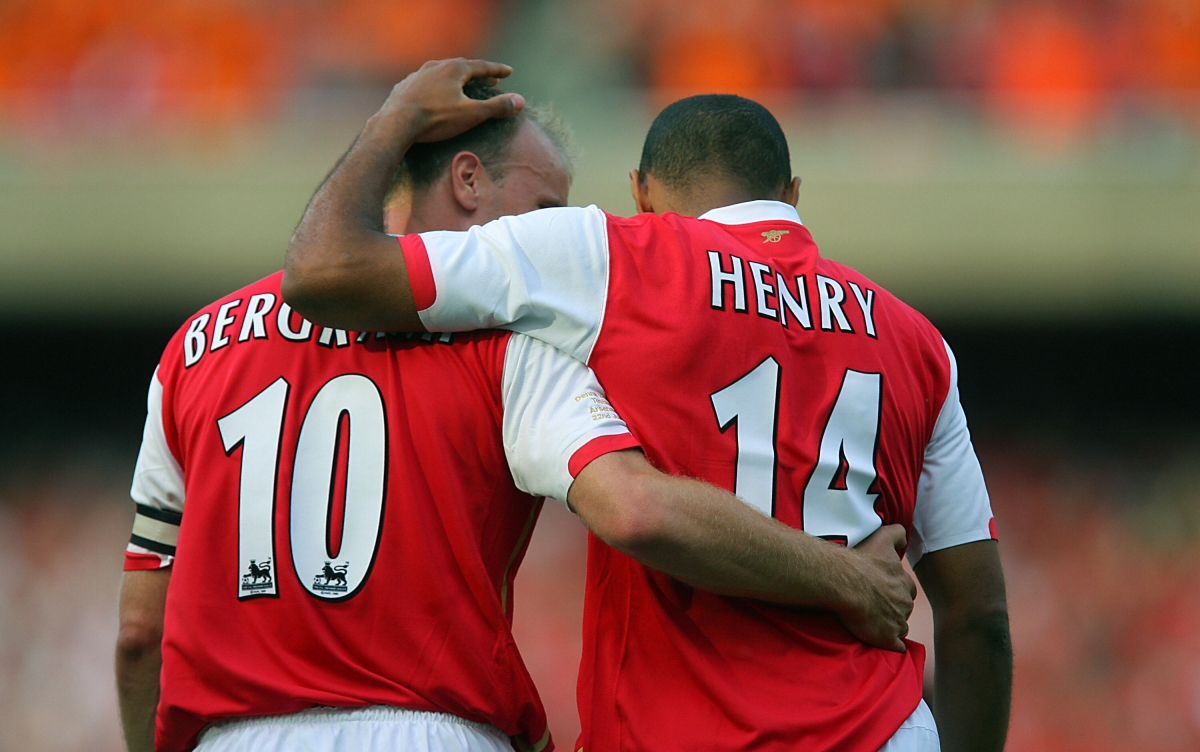 Henry and Dennis Bergkamp